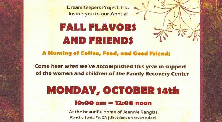 Fall Flavors and Friends 2019