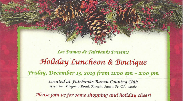 Holiday Luncheon & Boutique